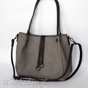 torebka na ramię szara, torba, torebka, wyjątkowy prezent