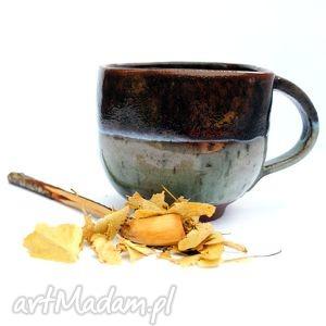 ceramiczny kubek jedyny taki nr40, kubek, naczynie, ceramika, użytkowe, unikatowe