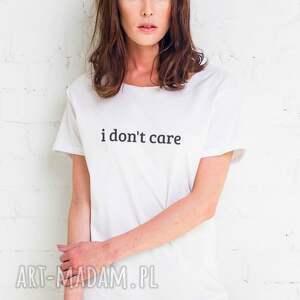 koszulki dont care t-shirt oversize, oversize ubrania
