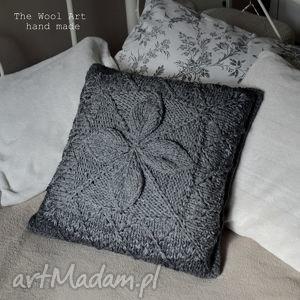 Prezent poszewka na poduszkę, poszewka, poduszka, dom, szara, prezent, tekstylia