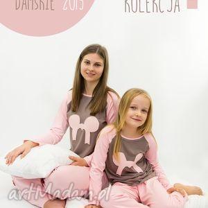piżama dla mamy i córki, piżamy, bielizna, damski, wiskoza, spodnie