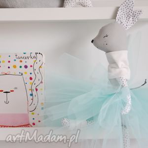 sarenka baletnica, sarenka, balerina, lalka, prezent, handmade dla dziecka