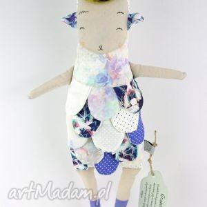 anabela lalka przytulanka hand made, kolorowa, prezent, urodziny, roczek, zabawka