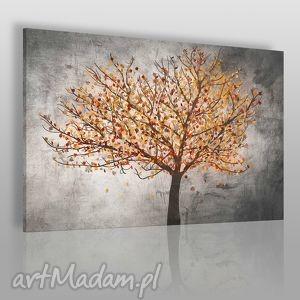obraz na płótnie - drzewo liście 120x80 cm 30603 , drzewo, liście, roślina, natura