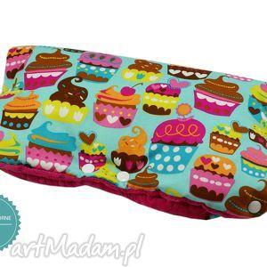 pokoik dziecka wodoodporna mufka do wózka, wzór muffiny, mufka, muffinki