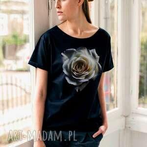 WHITE ROSE Oversize T-shirt, oversize