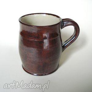 komplet duża filiżanka wraz ze spodkiem, ceramika, filiżanka, komplet, kawa, glina