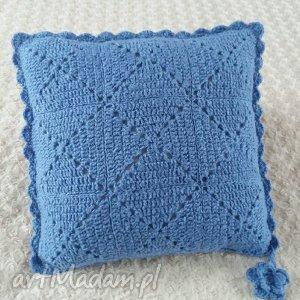 wools poduszka wykonana ręcznie wełna 45x45 cm 1szt, poduszki, poduszka