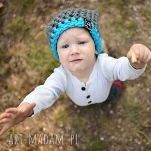 Czapka Inferiorek 07, czapka, czapa, zima, dziecko, ciepła, kolorowa
