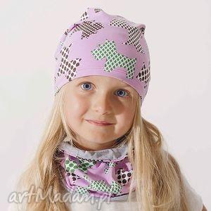 Czapka Jersey - Różowe Westy, czapka, czapeczka, beanie, smerfetka, dziecięca