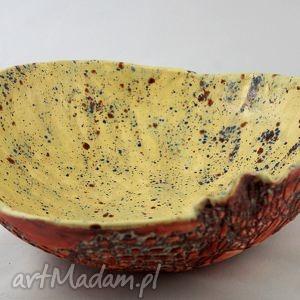 ceramika patera drozd, patera, ceramika, handmade, prezent, dekoracja, wnętrze dom