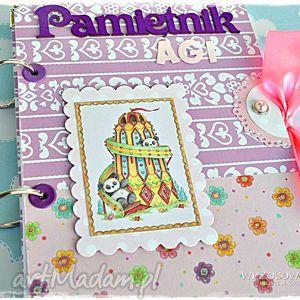 pamiętnik imienny dla dziewczynki, pamiętnik, notatnik, imię, dziewczynka, dzień