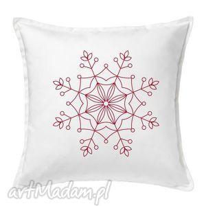 pod choinkę prezent, poduszka gwiazdka, poduszka, mikołajki, nadruk, święta