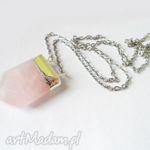 vivi4n kwarc różowy, kwarc, minerał biżuteria, oryginalny prezent