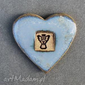 magnesy magnes ceramiczny serduszko , magnes, ceramiczny, serce, walentynki dom