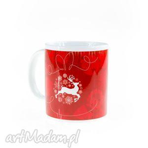 kubek 330ml świąteczny 2, dlaniej, dlaniego, prezent, kawa dom
