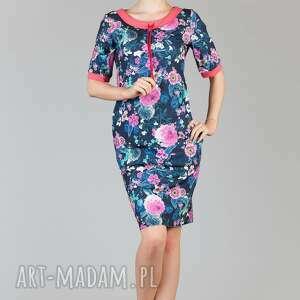 sukienka ramona 5, wygodna, swobodna, midi, modna, kieszenie, sportowa ubrania