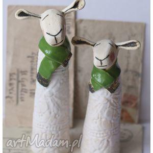 owce duet, ceramika