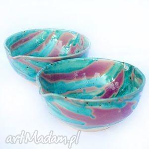 ceramika ceramiczne miski - eliptyczne nr100i101, ceramika, miska, miski, naczynie
