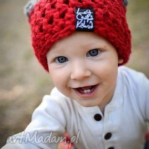czapka triquensik 01 - czapka, dziecko, czapa, kolorowa, zima, ciepła