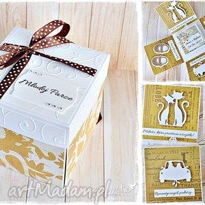 niezwykłe ślubne życzenia - eksplodujące pudełeczko, exploding, box