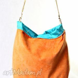 mana hit my orange, jaskrawy, handmade, xxl, ćwieki, prezent