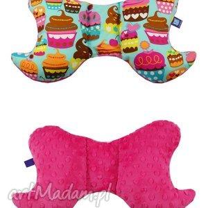 dla dziecka poduszka motylek, wzór muffiny, poduszka, muffin