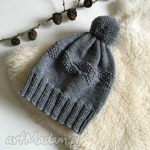 wool and dog wełniana czapka 100 merinowool, czapka, wełna, zima, winter