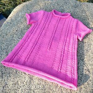ubranka sukieneczka klara, sukienka, bawełna, dziewczynka, niemowlę, prezent, lato