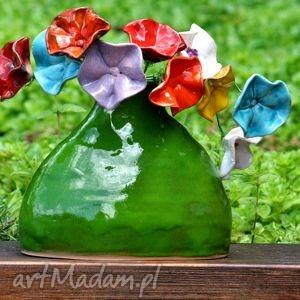 ceramika the order for kathrine, ceramic, flowers, vase, meadow, colourfull, garden
