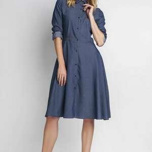 Sukienka, SUK130 jeans, office, sukienka, midi, casual