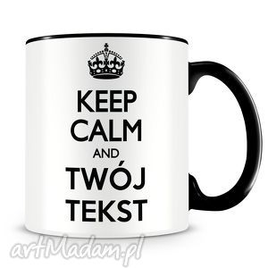 Prezent Keep Calm - kubek z nadrukiem, kubek, keep, calm, prezent, kawa, keepcalm