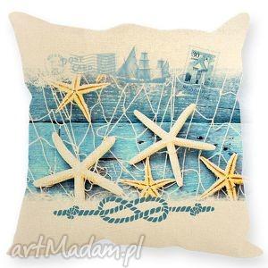 świąteczny prezent, poduszka morska , muszle, morze, poduszka