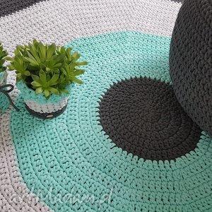 Dywan szydelkowany 150 cm średnicy , dywan, szydelko, kolo, pokoj, dziecko