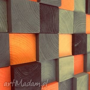 obrazy mozaika drewniana na zamówienie, halloween, obraz, drewniana, dekoracja