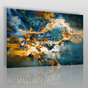 obrazy obraz na płótnie - abstrakcja nowoczesny 120x80 cm 22202