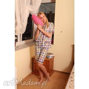 słodkie muffiny piżamka m, piżama, bielizna, nocna, muffiny