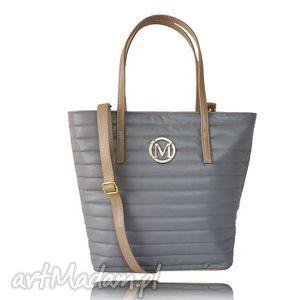 torebka manzana torba gwiazd klasyczna - siwa, torebka, manzana, torba
