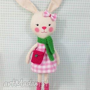 Prezent KRÓLICZKA JULIA, króliczka, zabawka, przytulanka, prezent, niespodzianka