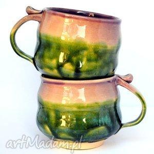 ceramiczne kubki - czar par nr 166 , ceramika, zestaw, kubek, kubki, unikat, użytkowe