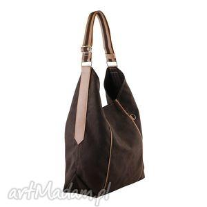 furia - torba worek czekolada, worek, wygodna, swobodna, prezent, alkantara