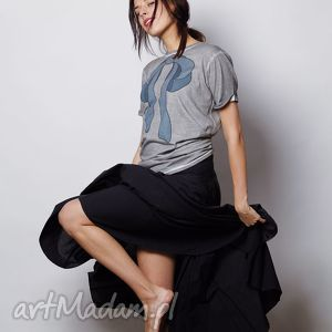 kokarda szara koszulka vintage, tshirt, oversize, ubrania