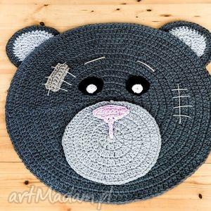 dywany dywan miś uszatek 100 cm, dywan, dywanik, miś, uszatek, chodnik, sznurek dom
