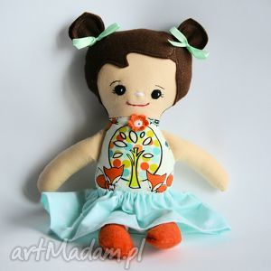 lala tośka - julita 35 cm, lalka, dziewczynka, lisek, chrzest, roczek, tośka