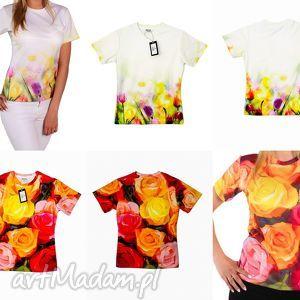 zamówienie specjalne , koszulka, modna, wiosenna, kolorowa, artystyczna, bluzki