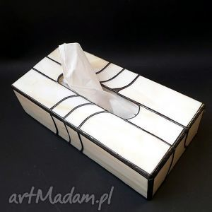 pudełka prezent lususowy pudełko na chusteczki hand made elegancko , chustecznik