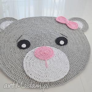 dywany dywan misia 100cm, dywan, miś, choddnik, pokój, dziecka dom, unikalny prezent