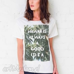 hawaii idea oversize t-shirt, oversize, ubrania