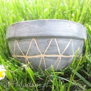 ceramika ana etno ceramiczna miseczka, etniczna, etno, wzorzysta