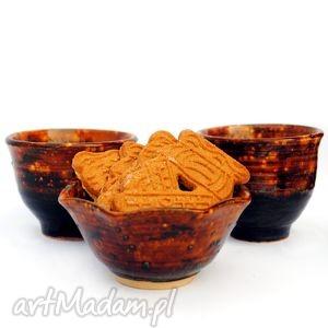 malgorzata wosik ceramiczny komplet - dobrze doprawione, czarka, miseczka, naczynia